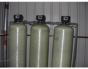 Softened water manufacturer